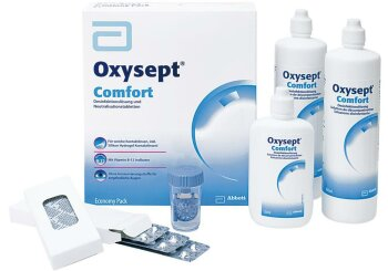 Oxysept Comfort B12 (2x 300ml +120ml) Economy Pack