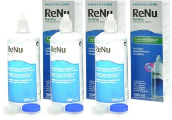 ReNu MultiPlus - Fresh Lens Comfort (3x 360ml)