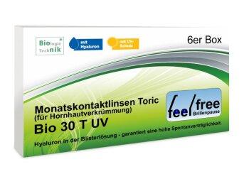 Feel free Brillenpause bio 30 Toric UV (6er)
