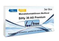 Feel free Brillenpause SiHy Hyaluron AS Multifocal (3er)