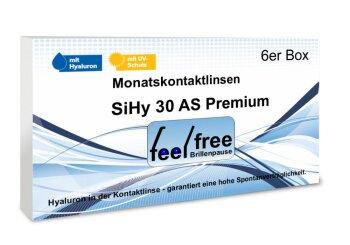 Feel free Brillenpause SiHy Hyaluron AS Multifocal (2x 3er)