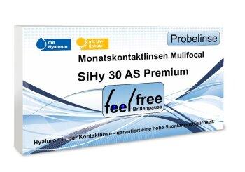 Feel free Brillenpause SiHy Hyaluron AS Multifocal (1x Probe)