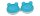 Kontaktlinsen Aufbewahrungsbehälter Box Frosch blau