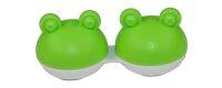 Kontaktlinsen Aufbewahrungsbehälter Box Frosch...