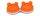 Kontaktlinsen Aufbewahrungsbehälter Box Frosch orange