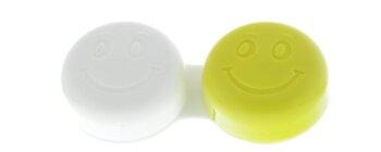 Kontaktlinsenbehälter Smiley hellgrün