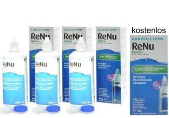 ReNu MultiPlus - Fresh Lens Comfort (3x 360ml + 60ml)