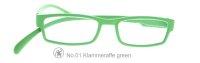 Lesebrille No.01 Klammeraffe _ new green