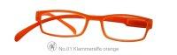 Lesebrille No.01 Klammeraffe _ orange