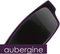 Lesebrille No.01 Klammeraffe Sun aubergine