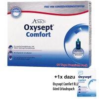 Oxysept Comfort B12 (3x 300ml +60ml) Premium 90+ Tage