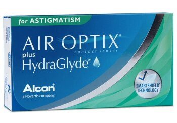 Air Optix plus HydraGlyde for Astigmatism (3er)