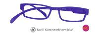 Lesebrille No.01 Klammeraffe _ new blue