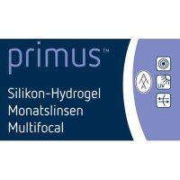 primus™ Silikon-Hydrogel Monatslinse Multifocal (2x...