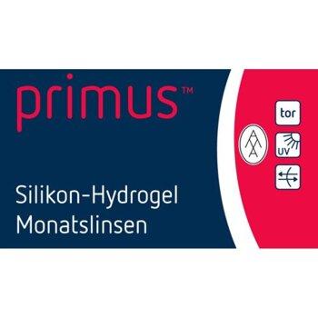 primus™ Silikon-Hydrogel Monatslinsen toric (2x 3er)