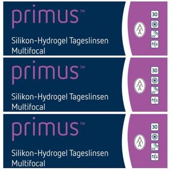 primus™ Silikon-Hydrogel Tageslinsen Multifocal (3x 30er)
