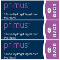 primus™ Silikon-Hydrogel Tageslinsen Multifocal (3x...