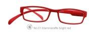 Lesebrille No.01 Klammeraffe _ bright red