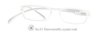 Lesebrille No.01 Klammeraffe transparent