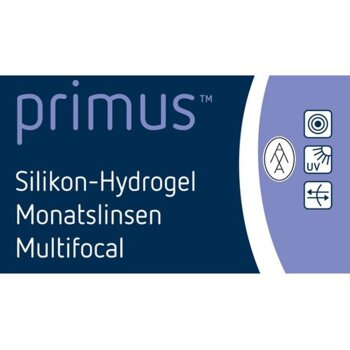 primus™ Silikon-Hydrogel Monatslinse Multifocal (3er)