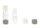 Kontaktlinsenbehälter Hart grau weiß