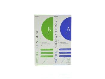 WÖHLK AUFBEWAHRUNG A (45ml) und REINIGER R (15ml)