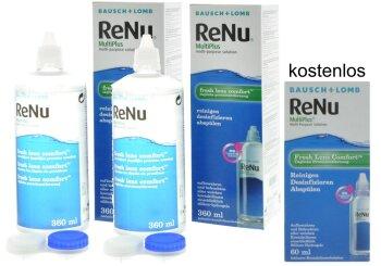 ReNu MultiPlus - Fresh Lens Comfort (2x 360 + 60ml)