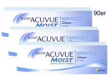 1 DAY Acuvue Moist for Astigmatism (90er)