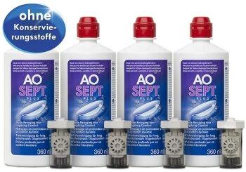 AOSept Plus (4x 360ml) Systempack