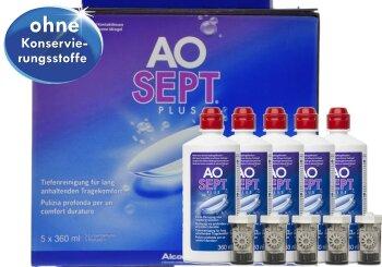 AOSept Plus (5x 360ml) 6 Monate