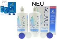 Acuvue RevitaLens MPDS (2x 300ml) Complete